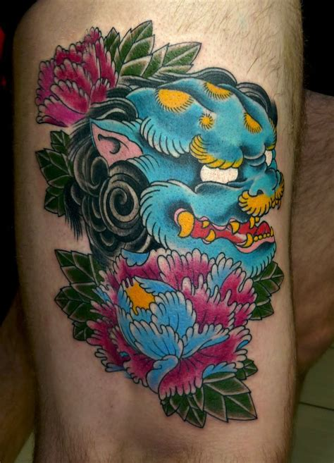 traditional foo dog tattoo designs 25 best ideas about foo on foo