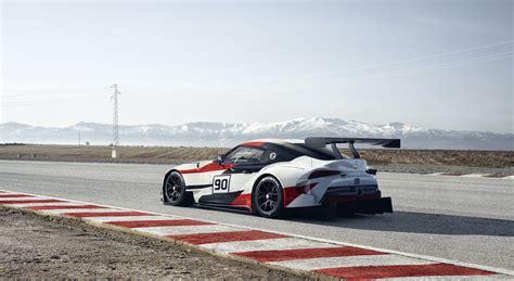 Racing Supra toyota gr supra racing concept debuts and reveals a great design