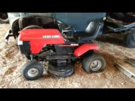 backyard king my free quot yard king quot lawn tractor youtube