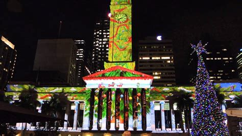 brisbane city christmas lights christmas lights card and