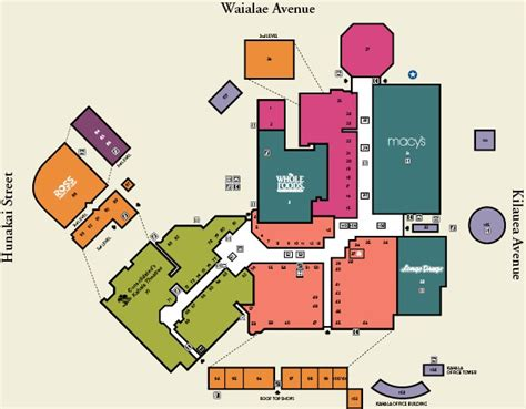 Retail Store Floor Plans by Kahala Mall