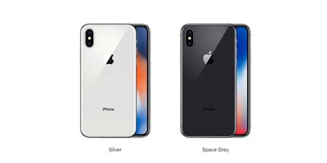 iphone x offered in space gray and silver only no gold color option 9to5mac