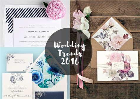wedding invitation trends 8 1 wedding stationery trends 2016 design and paper
