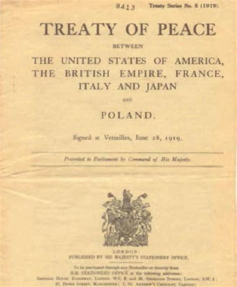 a perfidious distortion of history the versailles peace treaty and the success of the books versailles peace treaty 1919 center for judaic