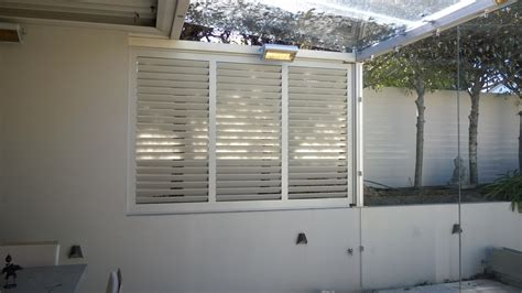 spray painting shutters our work