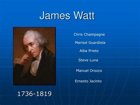 biography of james watt in hindi language ppt james watt powerpoint presentation id 970781