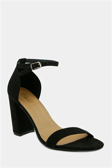 High Heels At11 Hitam 38 block heel shop by shoes