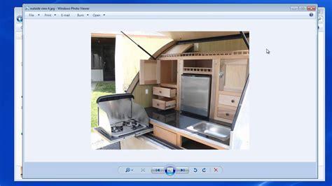 teardrop trailer floor plans teardrop trailer plans part 6 youtube