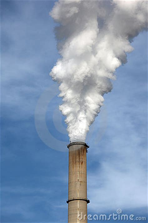 Smoke Comes Out Of Fireplace by Smoke Coming Out A Chimney Stock Photography Image 17217842