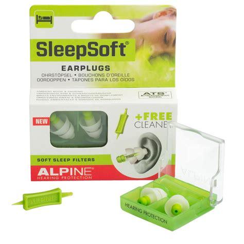 alpine sleepsoft thermoshape earplugs hearing protection