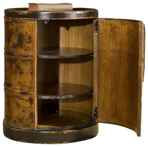 uttermost ascencion drum accent table end tables at uttermost lawton storage drum table traditional side