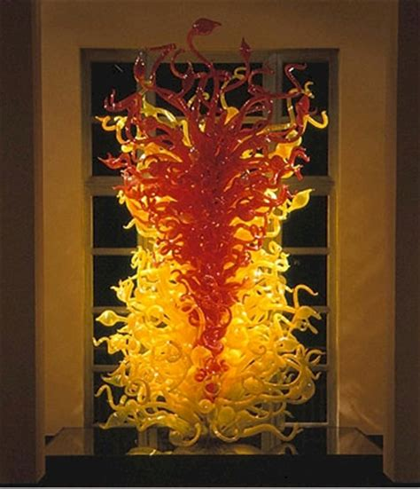 Chihuly Glass Chandelier Dale Chihuly Installation At