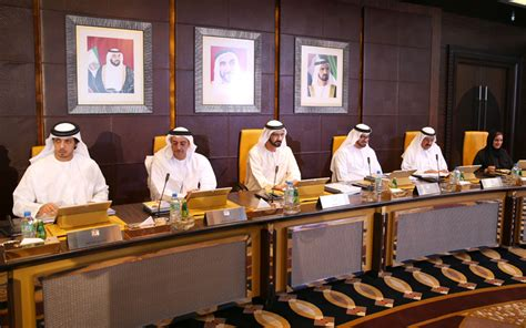 sheikh mohammed chairs cabinet meeting emirates