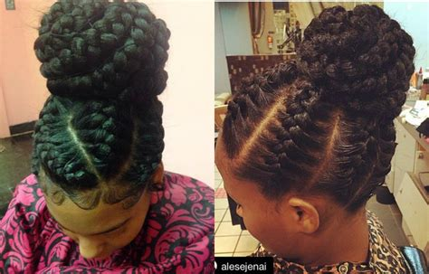 goddess braid updo styles striking goddess braids hairstyles blackhairlab com