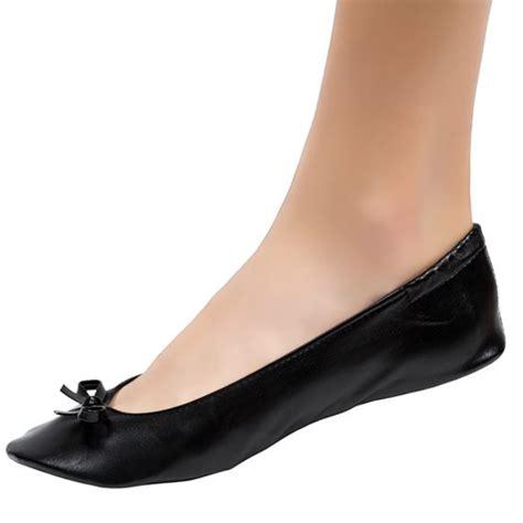 Black Wedding Flats by Foldable Ballet Flats For Wedding Receptions Cinderollies