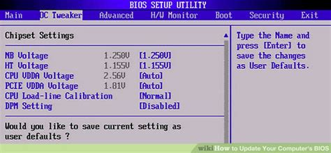 reset bios version how to update your computer s bios 8 steps with pictures