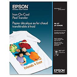 printable iron on paper staples epson iron on transfer paper by office depot officemax