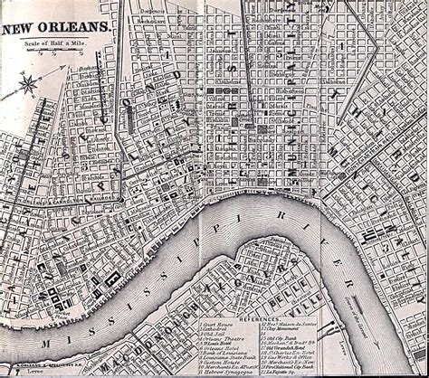 new orleans historical maps hist329i new orleans colonial to