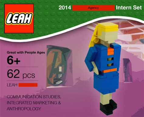 cover letter for lego intern quot legos quot herself to land a big