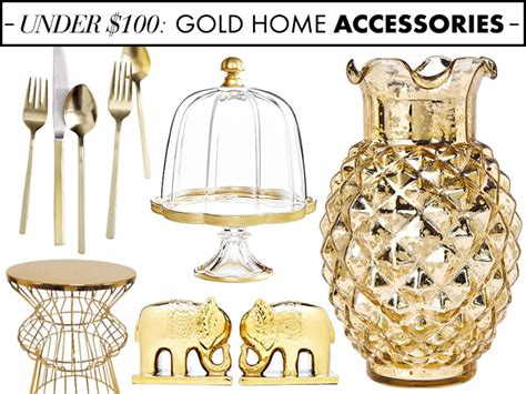 gold home decor accessories gold home decor accessories under 100 stylecaster