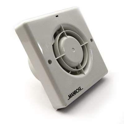 Manrose Xf100h Zone 3 Bathroom Extractor Fan Humidity