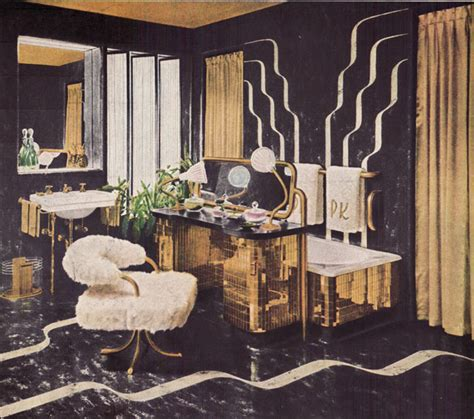old hollywood glamour bathroom decor before the bomb there was the bathroom vintage bathroom