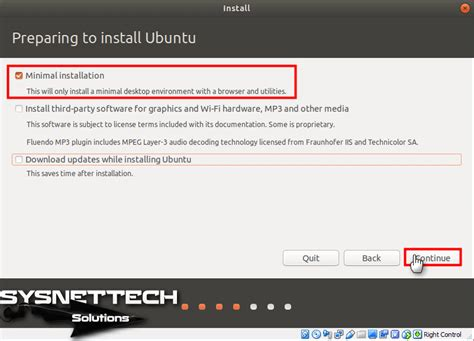 howto install ubuntu minimal install ubuntu 18 04 lts on virtualbox images video