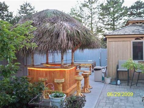 Tiki Bar Tops by Woodbridge Nj 6x6 Cedar Tiki Bar Marine Grade