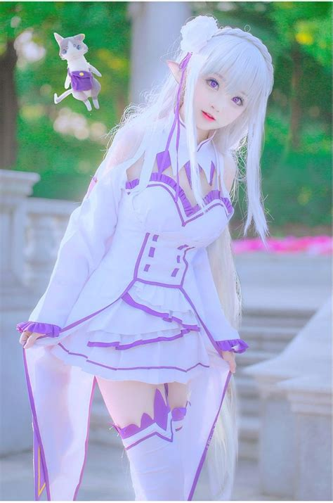 subaru and emilia cosplay 329 best images about asian girls on pinterest tokyo