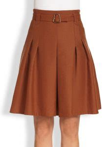 brown skirt dressed up