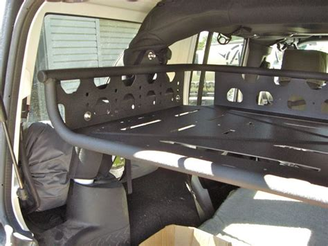 jeep wrangler overland interior at jeep jk interior cargo rack cargo rack adventure