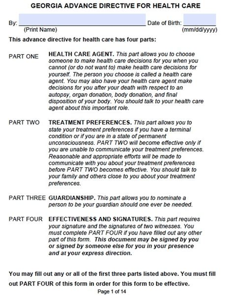 Agreement Of Sale Template For A Vehicle medical power of attorney georgia form adobe pdf