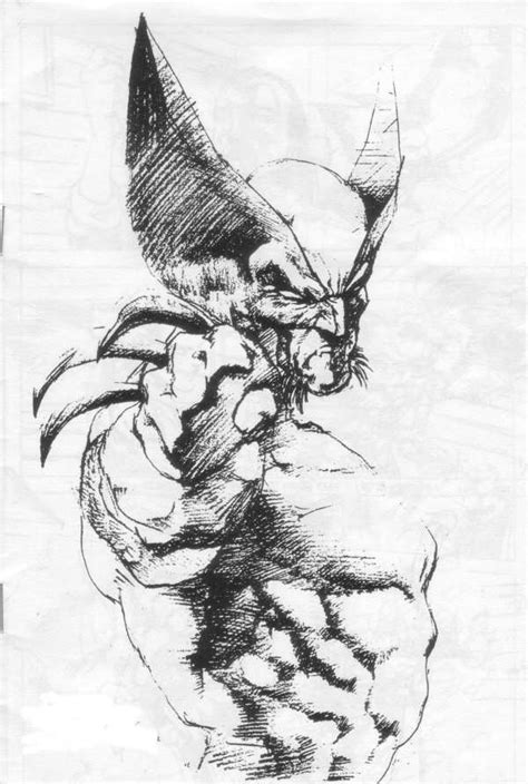 sketchbook x drawings wolverine pencil sketch other merry mutants
