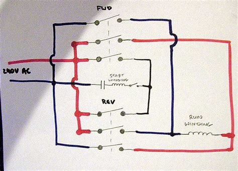 use a 3 pole reversing contactor for 1 phase 220 page 2