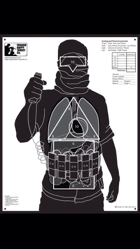 free printable tactical targets shooting target for modern times law enforcement today www