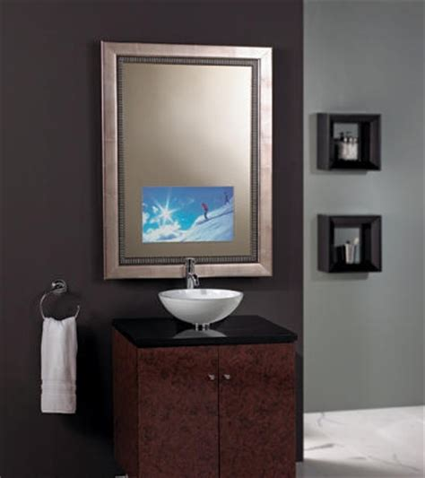 can you put a tv in the bathroom 10 images about mirrored tv ideas on pinterest tvs custom mirrors and bathroom mirrors