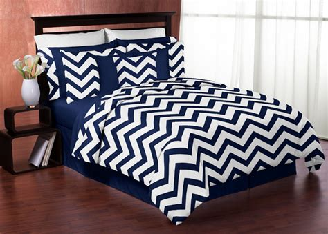 chevron bedding chevron navy and white king bedding collection