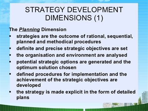 Of Mba In Strategic Management by Strategic Management Practices Mba