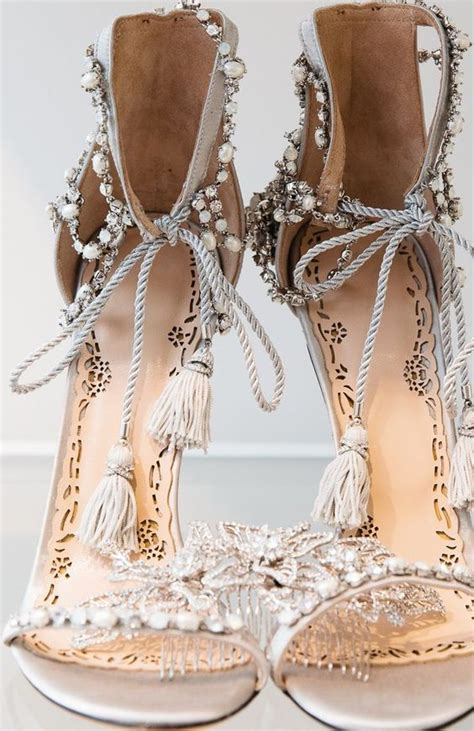 Pearl Wedding Shoes by Marchesa Pearl Bridal Shoes It