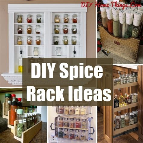 20 clever diy spice rack ideas diy home things