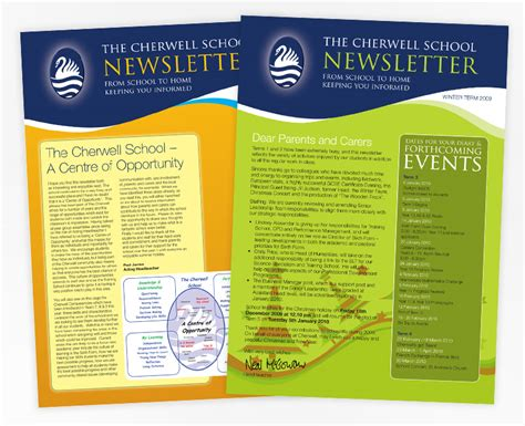 layout for school newsletter school newsletter exle 3 jennawood