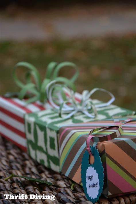 How To Make Gift Boxes Out Of Paper - how to make a gift box out of scrapbook paper thrift