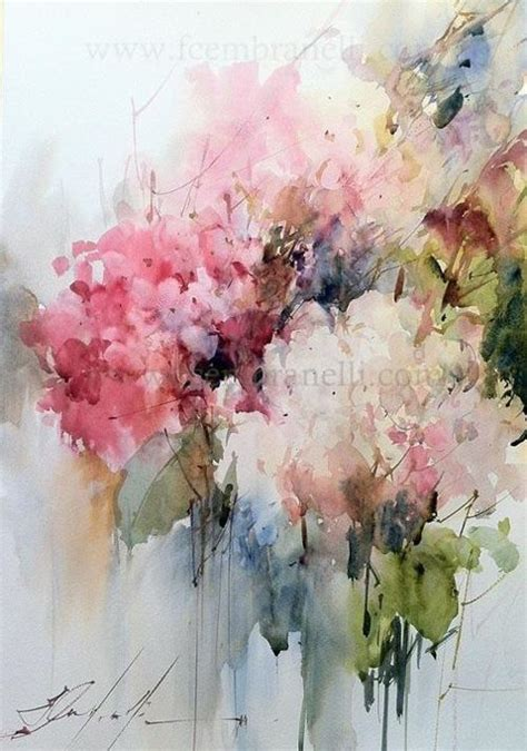 watercolour flower portraits 1782210822 i adore this abstract watercolor floral by artist fabio cembranelli floral artwork