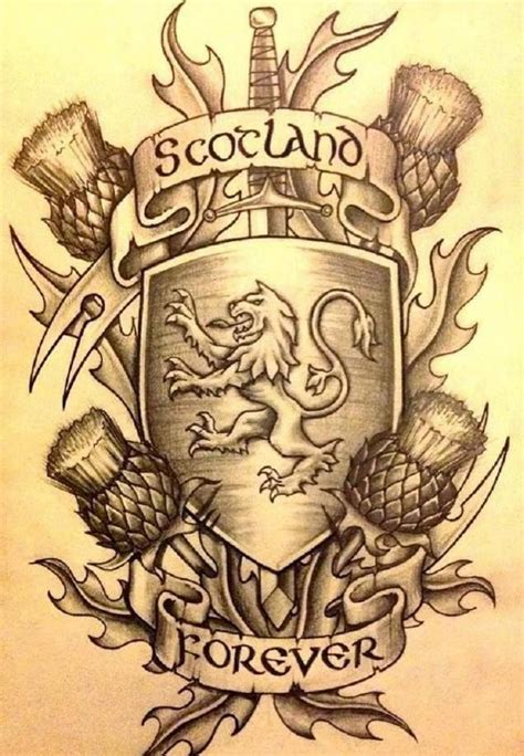 Tattoo History In Scotland | 17 best images about tattoo on pinterest flag tattoos