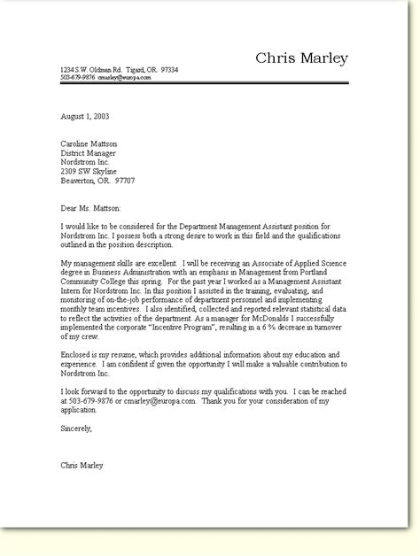 Motivation Letter Sle Germany Cover Letter Template Germany
