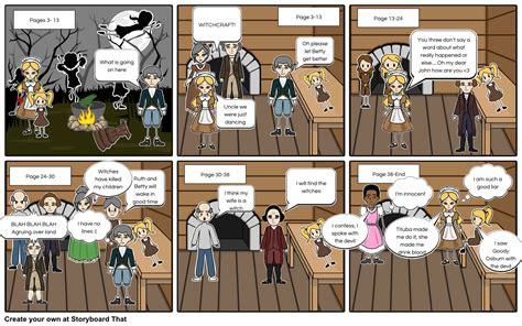 themes crucible act 1 act 1 of the crucible storyboard by rlars957