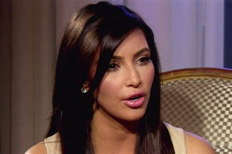celeb tube video kim kardashian gets quot real about her sex tape