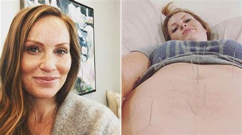 hgtvs mina starsiak hawk   acupuncture  pregnancy