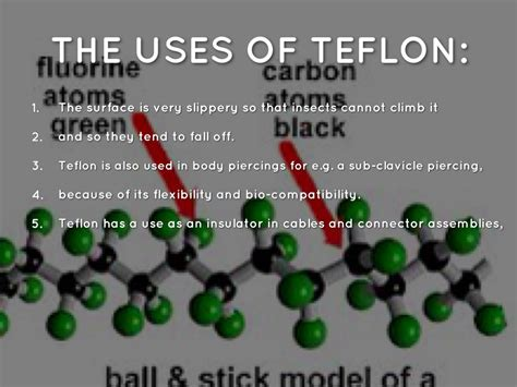 uses of teflon by by rima ghanim