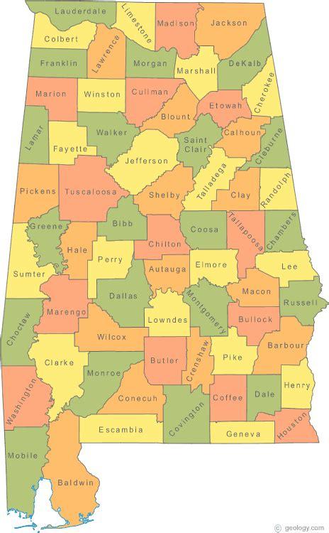 alabama political map political map of alabama
